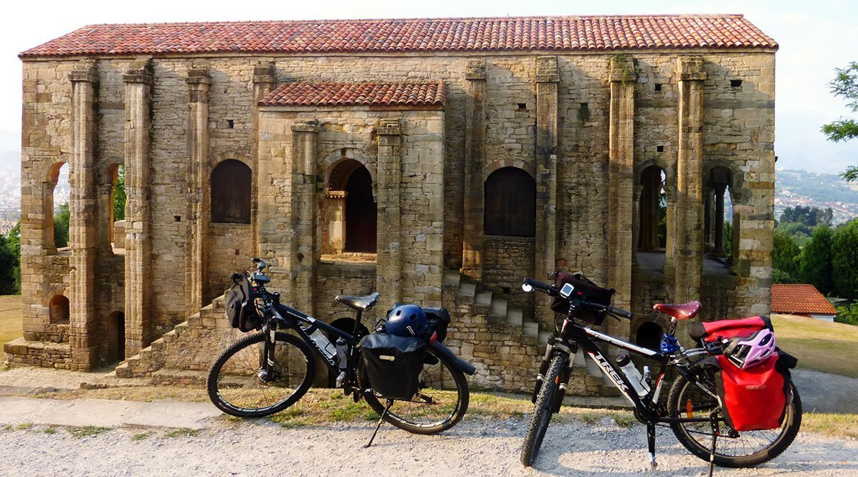 Camino de Santiago en bici Ruta Norte Oviedo | BIKINGTHROUGHSPAIN