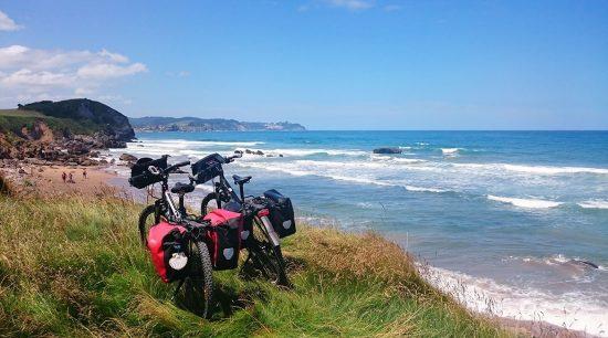 Camino de Santiago en bici Ruta Norte 1 costa asturiana| BIKINGTHROUGHSPAIN