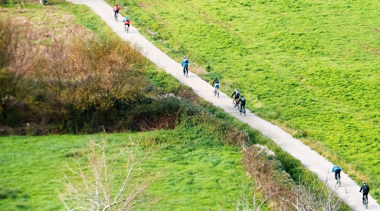 Trans Euskal Herria cicloturismo kortezubi 2 |BIKING THROUGH SPAIN