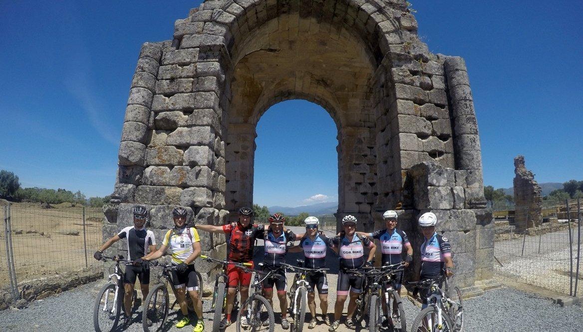 Camino de Santiago en Bici: Ruta la Plata Caparrá |BIKINGTHROUGHSPAIN