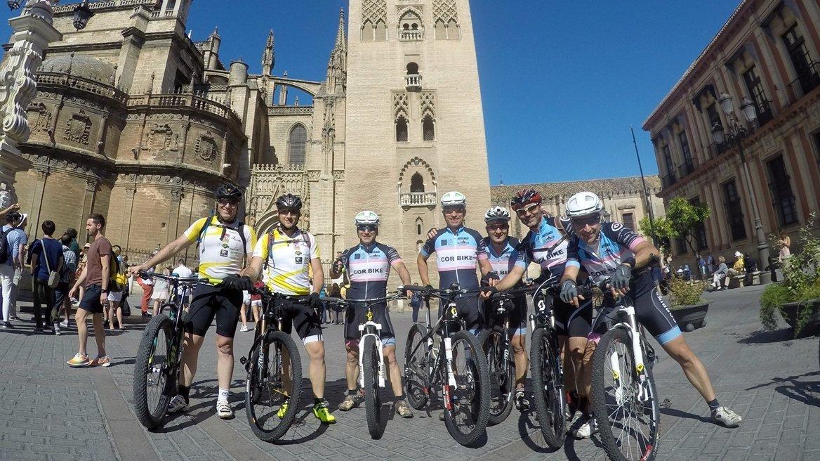 Camino de Santiago en Bici: Ruta la Plata Sevilla |BIKINGTHROUGHSPAIN