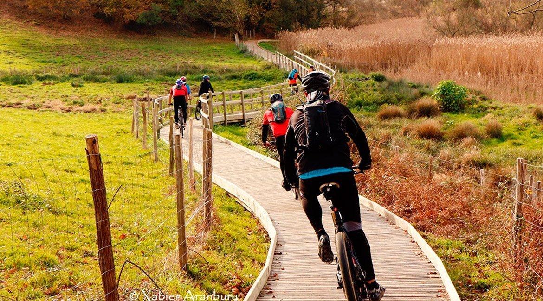 Trans Euskal Herria cicloturismo Urdaibai |BIKING THROUGH SPAIN