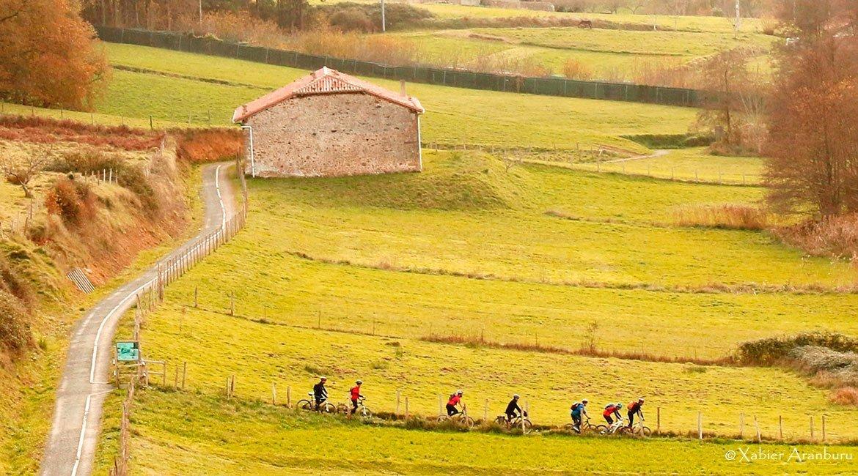 Trans Euskal Herria cicloturismo Kortezubi|BIKING THROUGH SPAIN