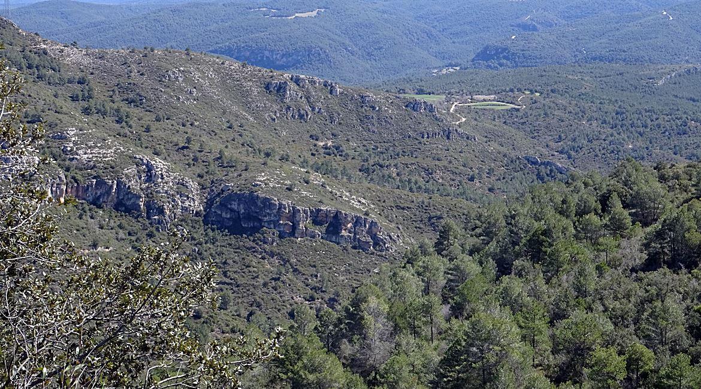 Ruta del Cister. Plana de Saborella. BIKING THROUGH SPAIN