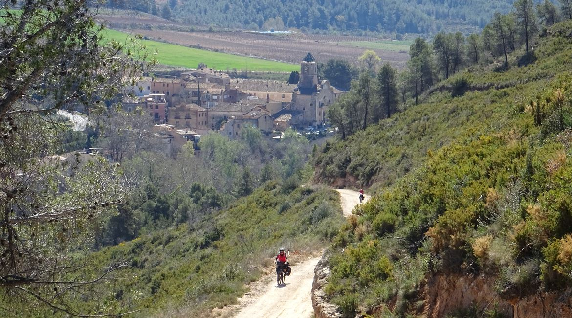 Ruta del Cister. Santes Creus 2. BIKING THROUGH SPAIN