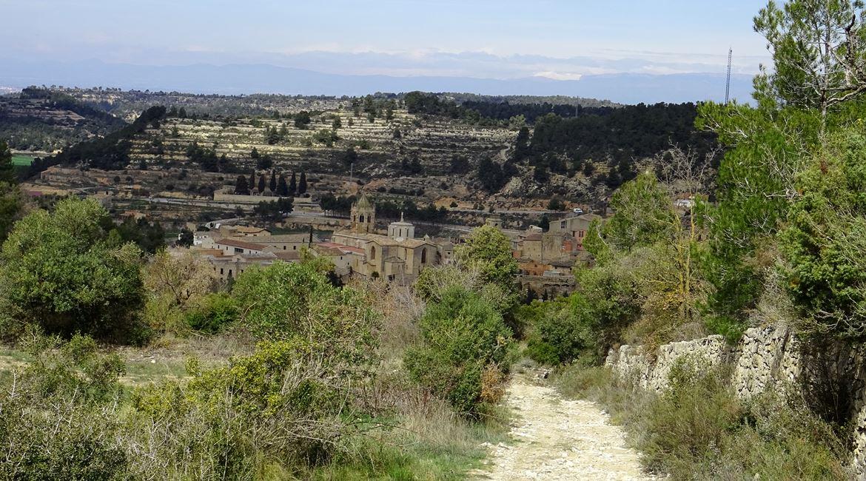 Ruta del Cister. Vallbona de les Monges. BIKING THROUGH SPAIN