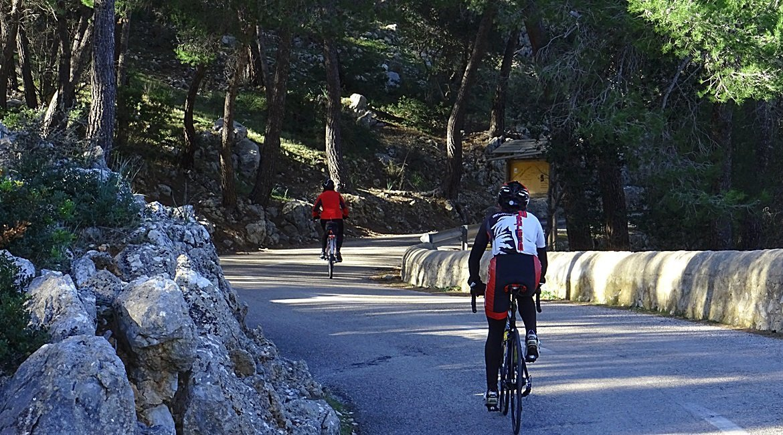Travesía Serra de Tramuntana en Bicicleta. Galilea .BIKING THROUGH SPAIN