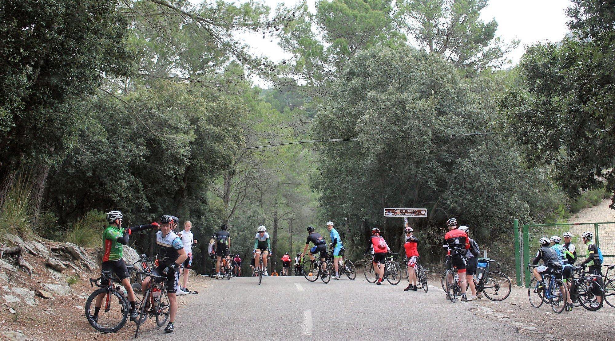 Serra de Tramuntana en bicicleta. Coll d'Honor. BICIS EN RUTA. 1170x650