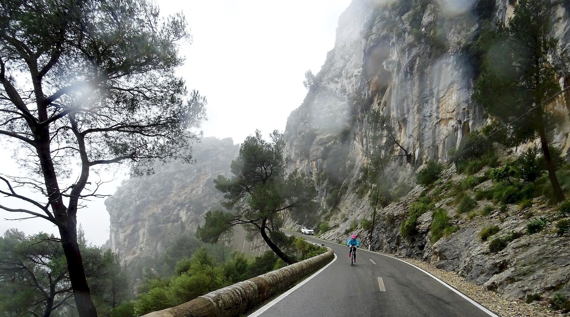 Serra de Tramuntana en bicicleta. Coll de Sa Batalla. BICIS EN RUTA. 1170x650