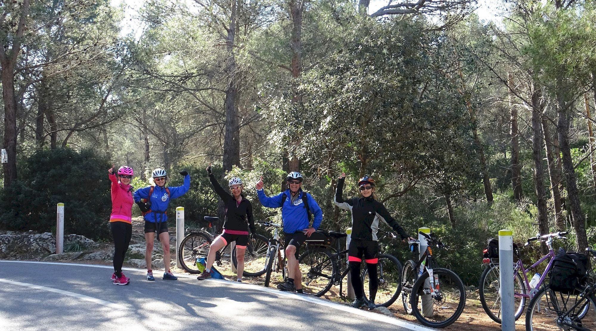 Serra de Tramuntana en bicicleta. Coll des Vent. BICIS EN RUTA. 1170x650