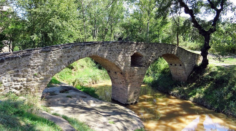 Pont romanic Sta Maria Albars. BICIS EN RUTA. 1170X650